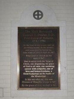 Rev Carroll Thomas Dozier