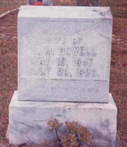 Mary Matilda Isabell <i>Johnston</i> Howell