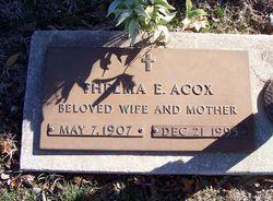 Thelma Eulalah <i>Albin</i> Acox