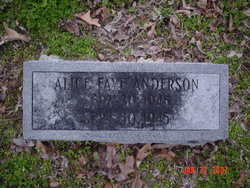 Alice Faye Anderson