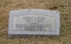 Bertha I. <i>Woodmansee</i> Fiske