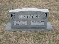 Ollie Lacie Batson