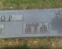 Minnie <i>Gann</i> Bishop