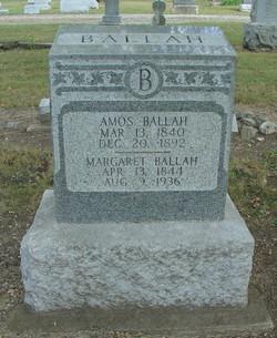 Margaret Elizabeth <i>Oliphant</i> Ballah