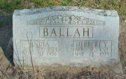 India <i>Van Pelt</i> Ballah