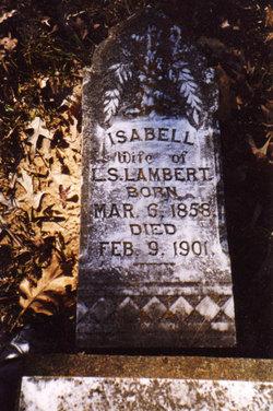 Isabell Bell <i>Mitchell</i> Lambert