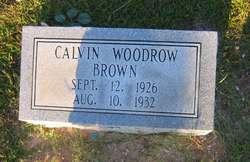 Calvin Woodrow Brown