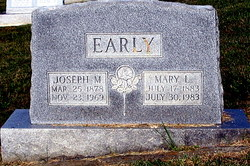 Mary Susan <i>Leonard</i> Early