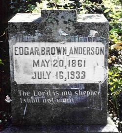 Edgar Brown Anderson