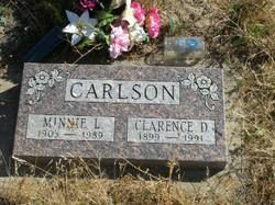 Minnie L. <i>Marlow</i> Carlson