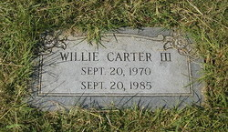 Willie Carter, III