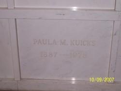 Paula M. Kuicks