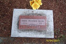 Abbie <i>Prather</i> Beebe
