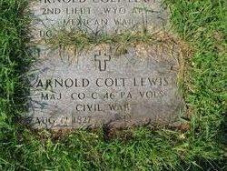 Maj Arnold Colt Lewis