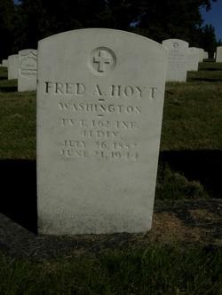 Fred A Hoyt