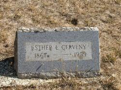 Esther E. <i>Delameter</i> Cerveny