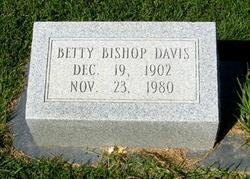 Betty <i>Bishop</i> Davis