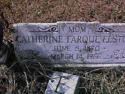 Catherine <i>Farque</i> Elston