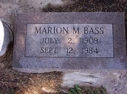 Marion M. Bass