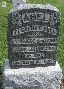 Jane <i>Johnston</i> Abel
