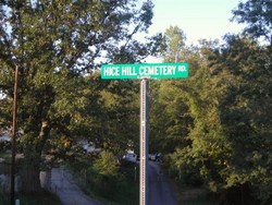 Hice Hill Cemetery