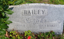 Macy J. <i>Berkey</i> Bailey