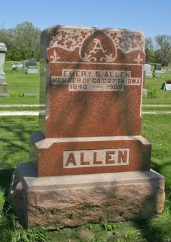 Pvt Emery S. Allen