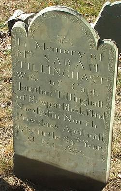 Sarah <i>Easton</i> Tillinghast