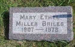 Mary Ethel <i>Miller</i> Briles