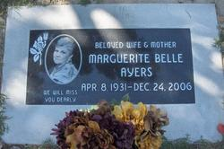 Marguerite Belle <i>Creech</i> Ayers