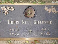 Doris Nell <i>Simmons</i> Gillespie