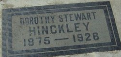 Dorothy Flavia <i>Stewart</i> Hinckley