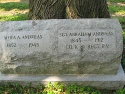 Sgt Abraham Andreas