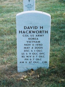 David H. Hackworth