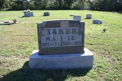 Mary S. <i>Deweese</i> Baker
