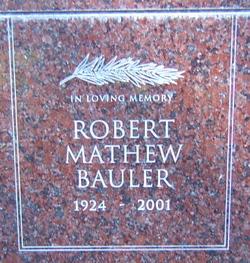 Robert Mathew Bauler