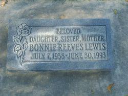 Bonnie <i>Reeves</i> Lewis