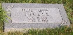 Lillie <i>Barber</i> Tucker