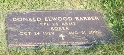 CPL Donal Elwood Barber