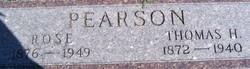 Thomas H Pearson