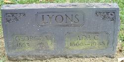 Mary Ada <i>Chamberlin</i> Lyons