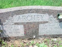 Rita Jean <i>Neal</i> Archey