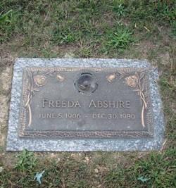 Freeda Alice <i>Miller</i> Abshire