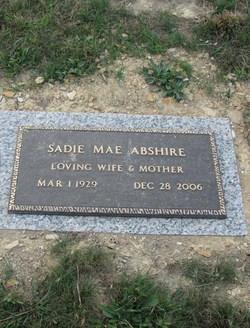 Sadie Mae Abshire