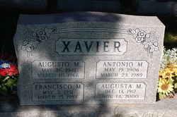 Lieut Augusto Maria Xavier