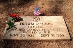 PFC Hiram Lincoln McCree