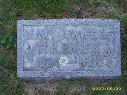 Mary T <i>Wesley</i> Baker