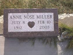 Anne <i>Nose</i> Miller