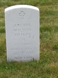 Archie Wilson Heflin