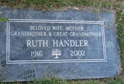 Ruth <i>Mosko</i> Handler